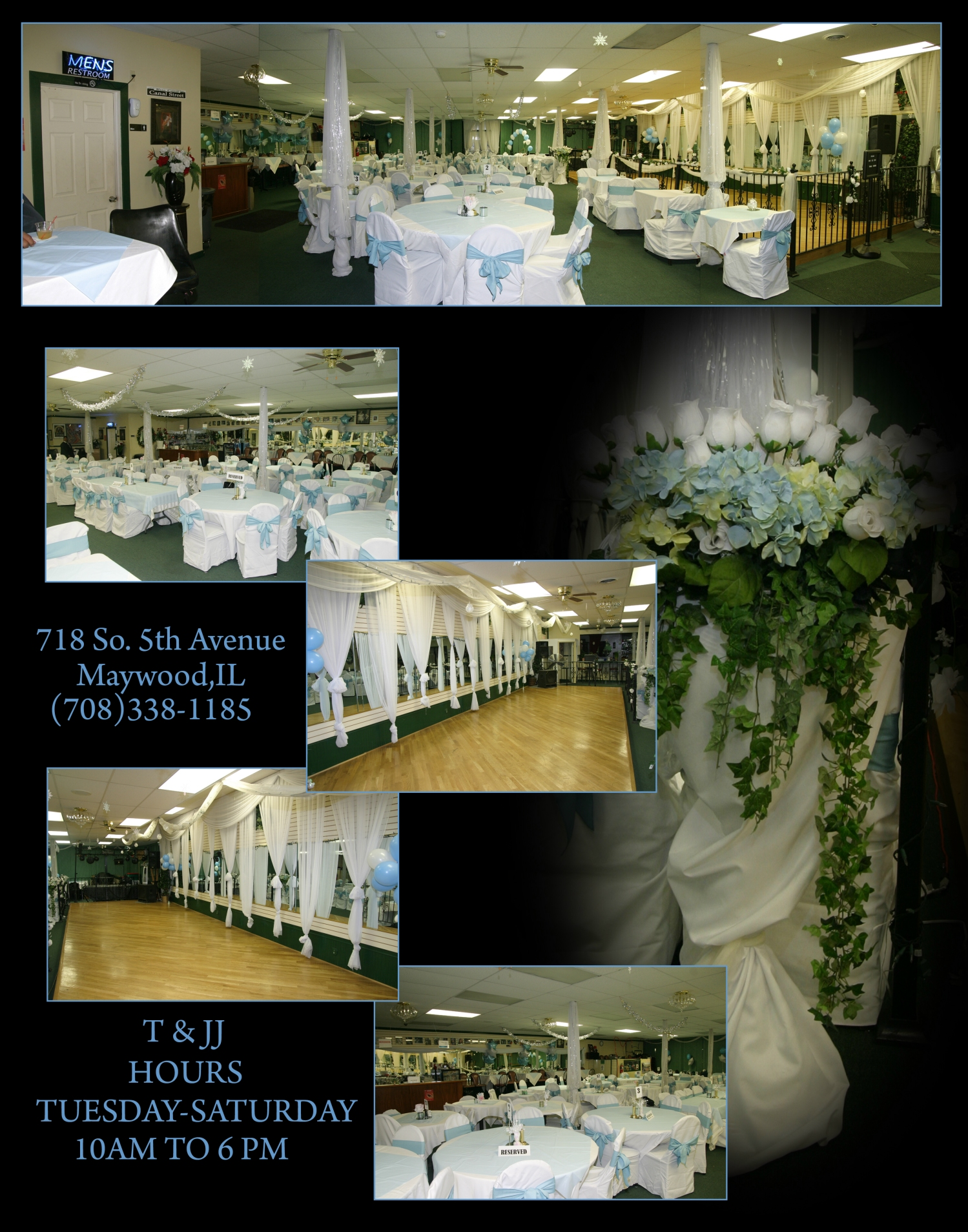 T Jj Banquet Hall Terms